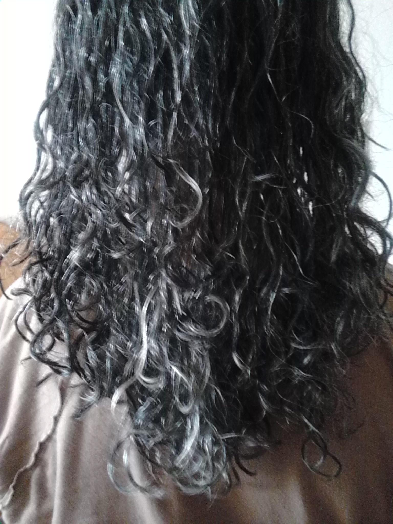 My Gramma S First Wash N Go By Curlyyrose