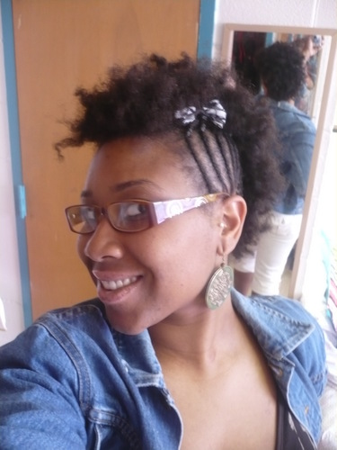 Kinky Mohawk - Short hair styles, Kinky hair, Readers, Styles, Female, Teen hair, Black hair, Mohawk Hairstyle Picture