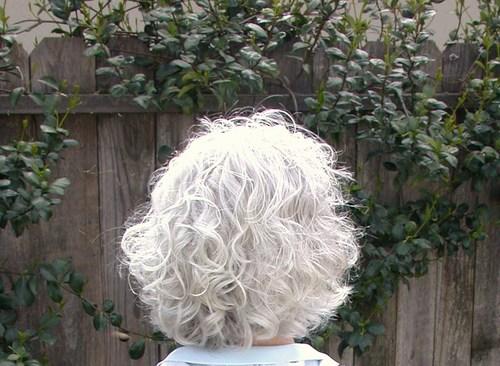... hair styles, Medium hair styles, Readers, Female, Curly hair, Gray