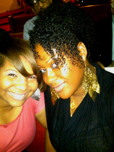 MY NIECE AND I - 3c, 4a, Short hair styles, Medium hair styles, Updos, Readers, Female, Curly hair, Curly kinky hair Hairstyle Picture