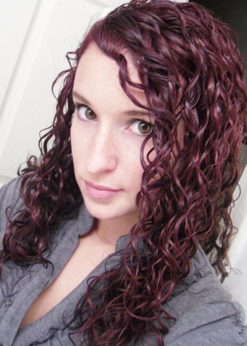 Red! - 3b, Long hair styles, Readers, Female, Curly hair, Makeovers Hairstyle Picture