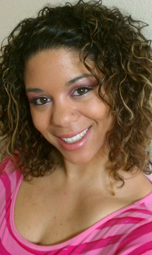 Twisted Bangs - Brunette, Blonde, 3b, Medium hair styles, Readers, Female, Adult hair, Spiral curls Hairstyle Picture