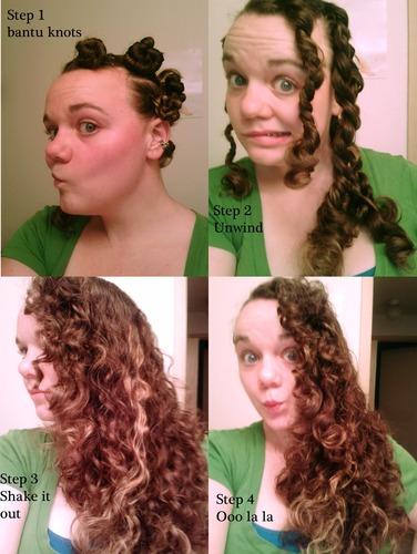 Hairstyles For Long Hair Knots : ... hair, Long hair styles, Female, Adult hair, Bantu knots, Bantu knot