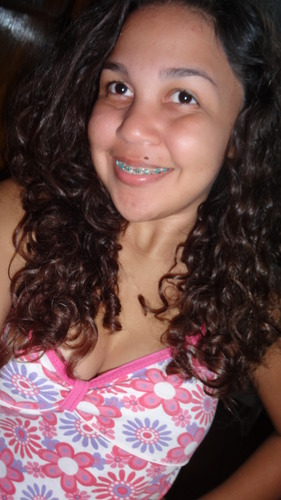 Lovely curls - Brunette, 3a, Medium hair styles, Readers, Teen hair Hairstyle Picture