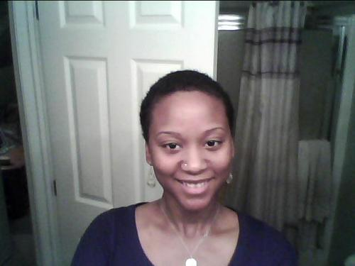 2 days after the Big Chop!! - 4b, Very short hair styles, Black hair, Adult hair Hairstyle Picture