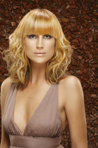 Allison Woodruff, a celebrity st - 2a, Blonde, Medium hair styles, Styles, Female, Layered hairstyles Hairstyle Picture