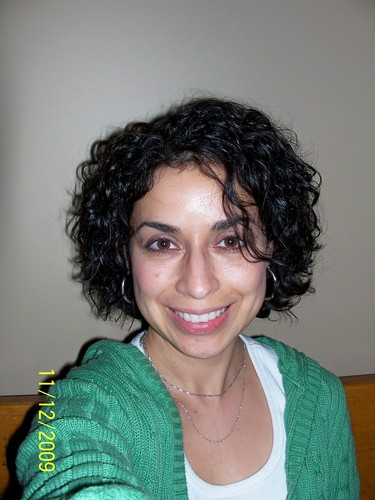 before Devacut - Brunette, 3a, Short hair styles, Fall hair, Female, Curly hair, Makeovers Hairstyle Picture