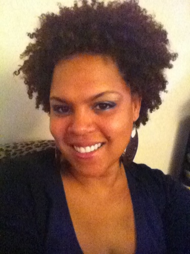 Me Currently - Brunette, 3c, 4a, Short hair styles, Kinky hair, Readers, Female, Curly hair, Black hair, Adult hair, Natural Hair Celebration Hairstyle Picture