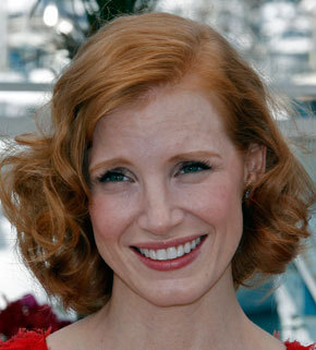 Jessica Chastain - Redhead, Celebrities, Wavy hair, Medium hair styles, Adult hair Hairstyle Picture