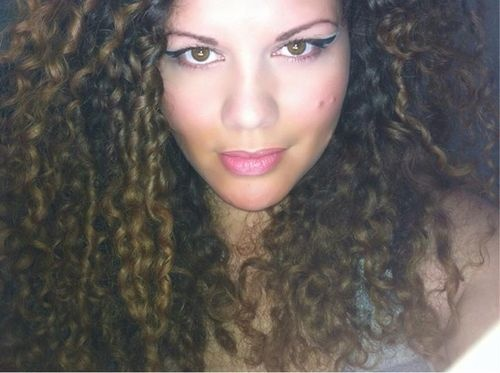my wild curls  - Brunette, 3b, 2b, Long hair styles, Adult hair, Spiral curls Hairstyle Picture