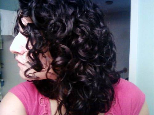 After CG - Brunette, 3b, 3a, Medium hair styles, Readers, Female, Curly hair, Adult hair, Layered hairstyles Hairstyle Picture