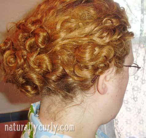 Messy Bun - Redhead, Readers, Styles, Female, Curly hair, Adult hair Hairstyle Picture