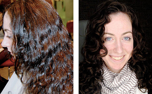 Devachan Restyle - Brunette, Long hair styles, Female, Curly hair, Makeovers, Deva Curly Girl Challenge Hairstyle Picture