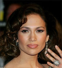 Jennifer Lopez - Brunette, Celebrities Hairstyle Picture