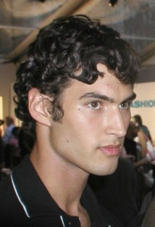 Grecian Curls - Brunette, 3a, Male, Short hair styles, Styles, Curly hair Hairstyle Picture