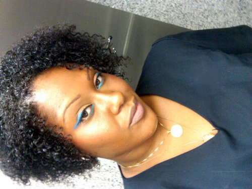 WASH AND GO... SECOND DAY...  - 3c, 4a, Short hair styles, Readers, Female, Curly hair, Curly kinky hair Hairstyle Picture