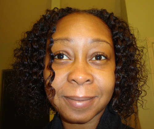 Flat twist out with Mixed Chicks - Brunette, 4a, Medium hair styles, Kinky hair, Readers, Styles, Female, Black hair, Adult hair, Twist out Hairstyle Picture