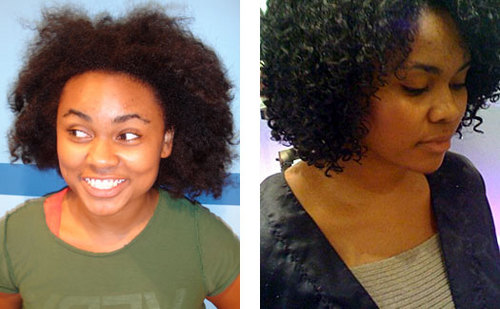Devachan Redux - Brunette, Medium hair styles, Kinky hair, Female, Makeovers, Deva Curly Girl Challenge Hairstyle Picture