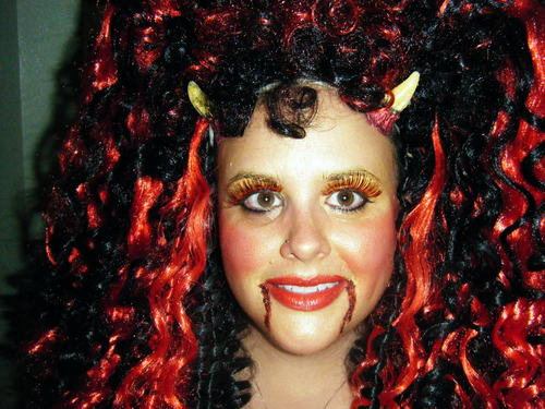 Fun Halloween Curls - Redhead, Brunette, 3b, Long hair styles, Fall hair, Readers, Special occasion, Female Hairstyle Picture