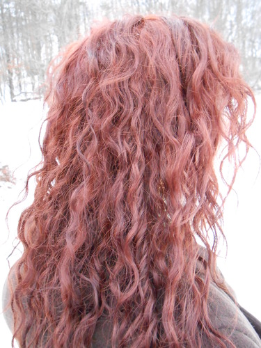 Winter Wavy Curly - Readers Hairstyle Picture