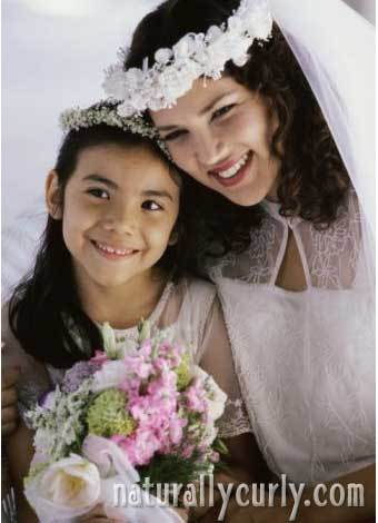 Wedding Waves - Brunette, Wavy hair, Kids hair, Long hair styles, Wedding hairstyles, Styles, Female, Adult hair, Straight hair Hairstyle Picture