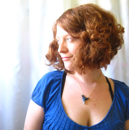 Ms. Laraine  - Redhead, 3a, Wavy hair, Medium hair styles, Spring hair, Readers, Styles, Female, Curly hair Hairstyle Picture