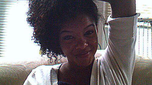 pinned to the side - Brunette, 3b, 3a, 3c, 4a, 4b, Medium hair styles, Updos, Kinky hair, Wedding hairstyles, Readers, Styles, Female, Curly hair, Teen hair, Black hair, Adult hair, Formal hairstyles, Homecoming hairstyles, Curly kinky hair Hairstyle Picture