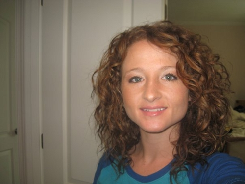 Natural look - Redhead, 3b, Long hair styles, Female, Curly hair, Adult hair, Natural Hair Celebration Hairstyle Picture