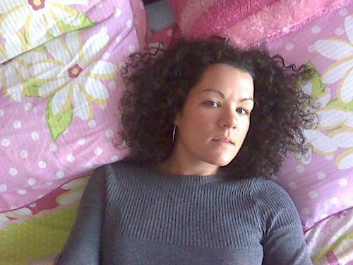 Curllee1 :) - Brunette, 3b, Medium hair styles, Summer hair, Spring hair, Fall hair, Winter hair, Readers, Female, Curly hair Hairstyle Picture