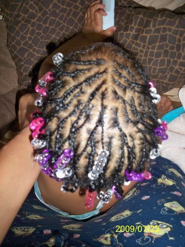 BRAIDS!!! - 3b, 3c, Medium hair styles, Kids hair, Braids, Readers, Female, Curly hair Hairstyle Picture