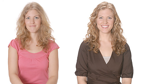 Ouidad Makeover for Medium Curls - Blonde, 3a, Wavy hair, Long hair styles, Female, Curly hair, Makeovers Hairstyle Picture