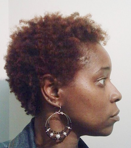 Look Ma! I'm a red head! - Redhead, 3c, 4a, Short hair styles, Afro, Readers, Female Hairstyle Picture