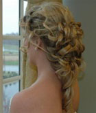 Romantic Curls - Blonde, 2b, Wavy hair, Long hair styles, Twist hairstyles, Braids, Wedding hairstyles, Styles, Special occasion, Female Hairstyle Picture