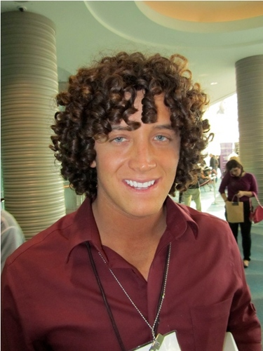 International Salon and Spa Expo - Brunette, Wavy hair, Male, Medium hair styles, Curly hair, Adult hair, Textured Tales from the Street Hairstyle Picture
