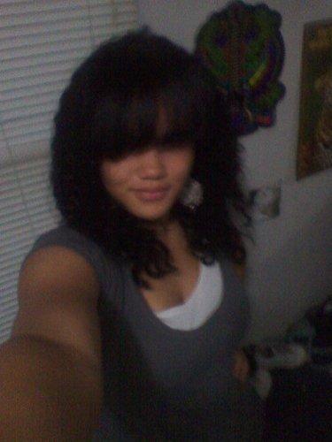 curly gurl.jpg - 3b, Medium hair styles, Female, Teen hair, Black hair Hairstyle Picture
