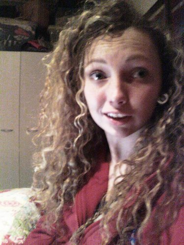 Long, curly - Brunette, Blonde, Long hair styles, Readers, Female, Curly hair, Teen hair Hairstyle Picture