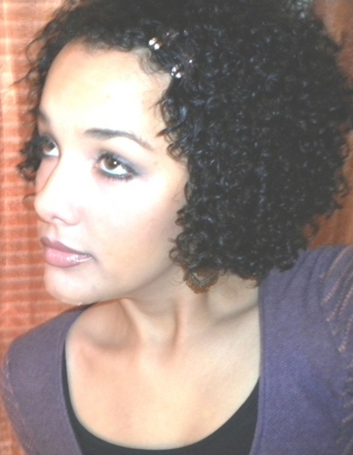 just me ;) - Brunette, 3b, Short hair styles, Styles, Female, Curly hair, Adult hair, Spiral curls Hairstyle Picture