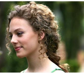Teen Lovely - Brunette, 3a, Updos, Long hair styles, Styles, Female, Curly hair, Teen hair Hairstyle Picture