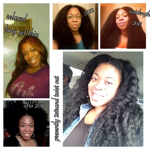 Mu Natural Hair Journey - Brunette, 3c, Long hair styles, Afro, Readers, Female, Makeovers, Black hair, Adult hair, Afro puff, Twist out, Curly kinky hair Hairstyle Picture