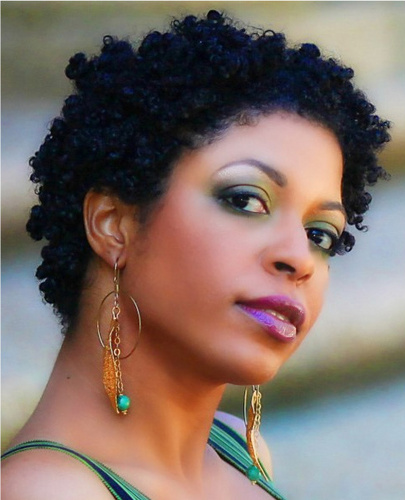 Taboo Twist Out - 3c, 4a, Short hair styles, Kinky hair, Twist hairstyles, Readers, Female, Black hair Hairstyle Picture