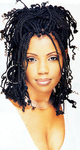 Kinky Twists - Medium hair styles, Long hair styles, Twist hairstyles ...