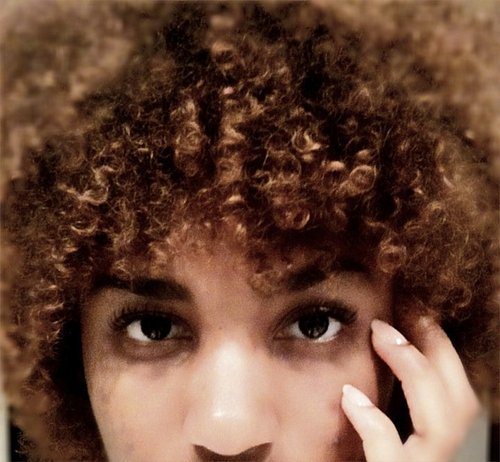 up close and personal - Brunette, 4a, Medium hair styles, Kinky hair, Readers, Female, Adult hair Hairstyle Picture