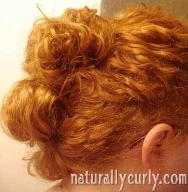 Messy Bun - Redhead, Styles, Female, Adult hair, Knots, Buns Hairstyle Picture
