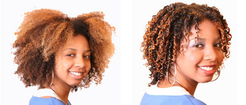 Ali, before and after - Redhead, Brunette, 4a, Medium hair styles, Female, Makeovers Hairstyle Picture