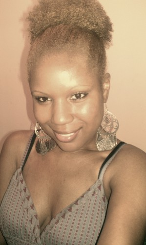 My fabulous puff - 4a, Celebrities, Readers, Female, Makeovers, Adult hair, Afro puff Hairstyle Picture