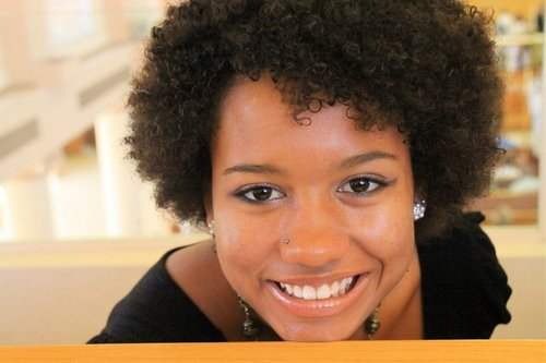 Wash n' go - Brunette, 3c, 4a, Short hair styles, Kinky hair, Readers, Female, Curly hair, Teen hair, Natural Hair Celebration, 2010 Holiday Photos Hairstyle Picture