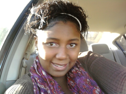 my TRANSITION (right before  - 3c, Medium hair styles, Kinky hair, Black hair Hairstyle Picture
