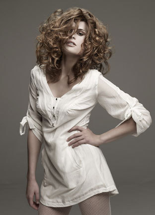 Sebastian Fall 2009 - Redhead, 3a, Long hair styles, Styles, Female, Curly hair, Layered hairstyles Hairstyle Picture