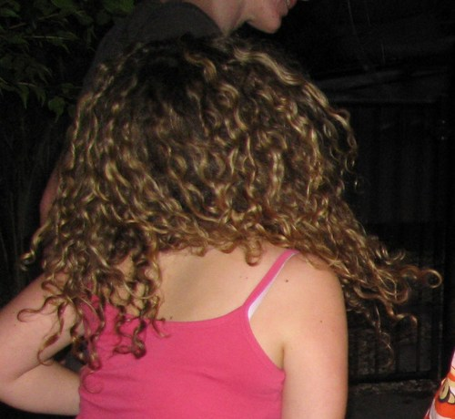 Curly Dancing  - Brunette, 3b, 3a, Wavy hair, Long hair styles, Twist hairstyles, Summer hair, Readers, Curly hair, Teen hair Hairstyle Picture