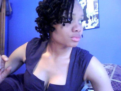kinky twist - Brunette, 4b, Short hair styles, Kinky hair, Twist hairstyles, Readers, Styles, Female, Adult hair, Kinky twists, Twist out Hairstyle Picture